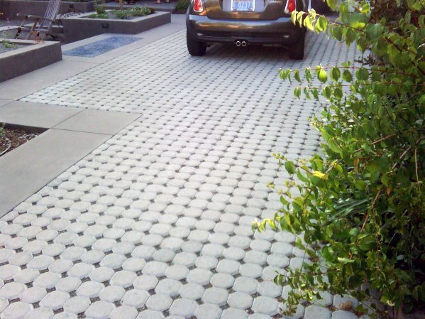 Ornate Driveway Edging Ideas Pattern Stones