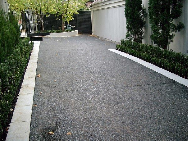 Contemporary Driveway Edging Ideas