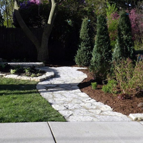 Luxury Flagstone Walkway Ideas