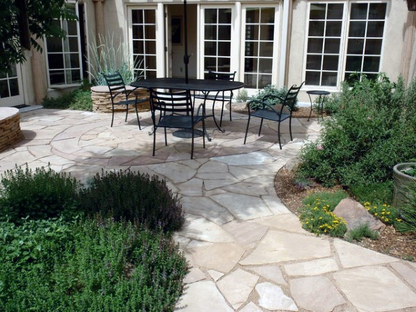 Patio Ideas Pasarela de Flagstone