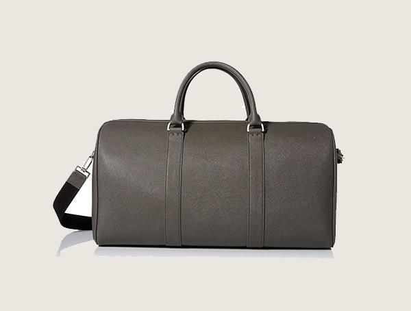 Jack Spade Barrow Leather Weekender Bag For Men