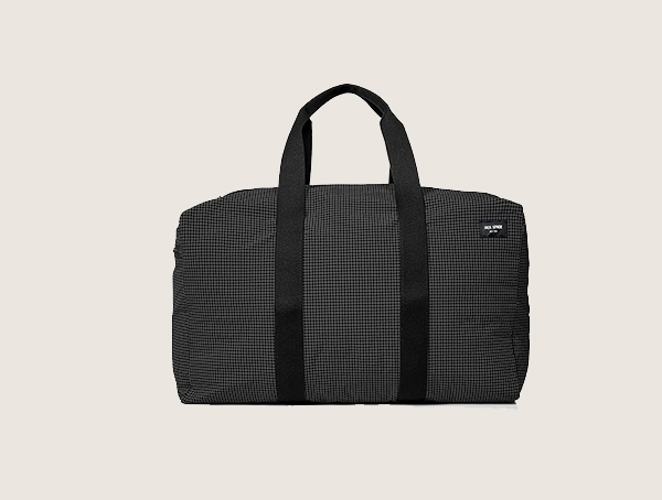 Jack Spade Packable Graph Check Weekender Bag For Men