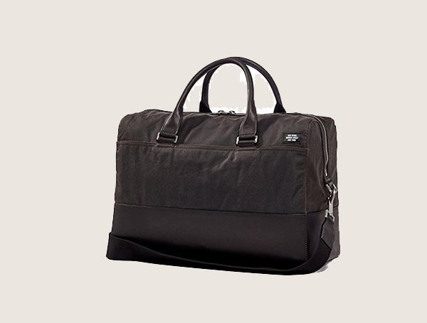 Jack Spade Waxwear Chocolate Weekender Bag For Men
