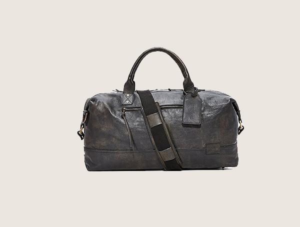 Nixon Desperado Leather Weekender Bags For Men