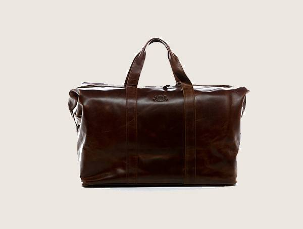 Sid And Vain Travel Chester Leather Weekender Bag For Men