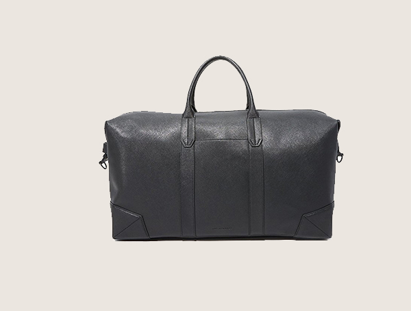 Uri Minkoff Saffiano Leather Wythe Mens Weekender Bag