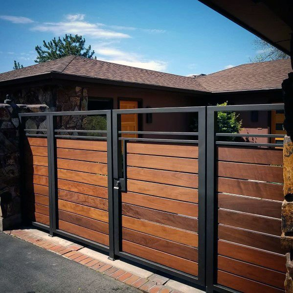 Luxury Wooden Gate Ideas