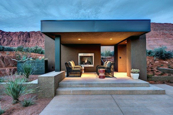 Contemporary Backyard Pavilion Ideat