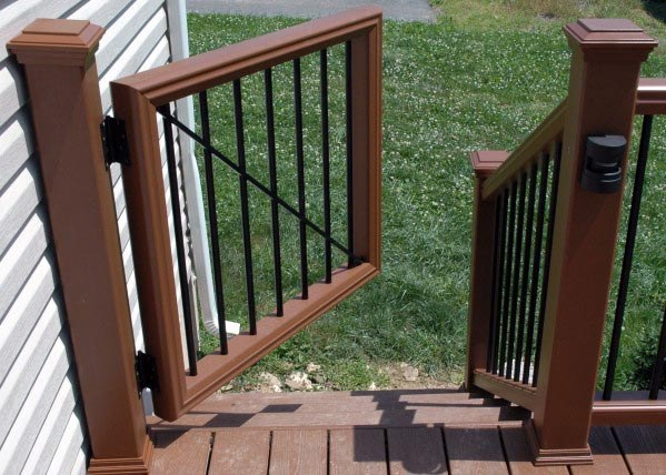 Composite Designs For Deck Gate