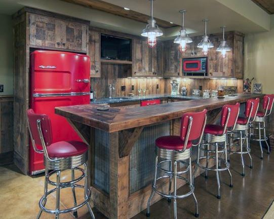 Stupendous Top 50 Best Garage Bar Ideas Cool Cantina Workshop Designs Ncnpc Chair Design For Home Ncnpcorg