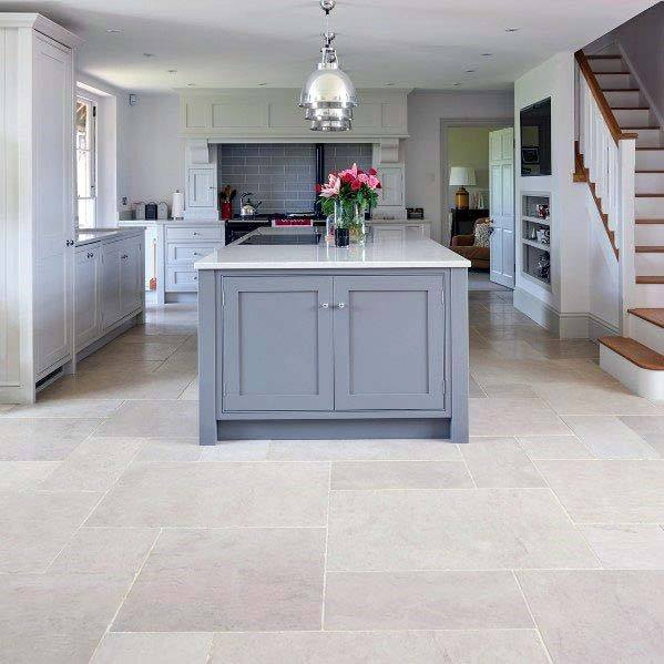 Kitchen Tile Floor Home Designs