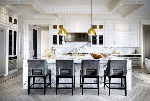 Top 50 Best Kitchen Island Lighting Ideas , Interior Light