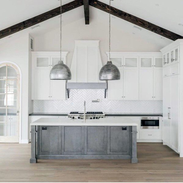 Silver Rustic Metal Pendants Exceptional Kitchen Island Lighting Ideas