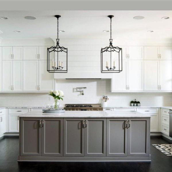 Traditional Excellent Interior Ideas Kitchen Island Lighting