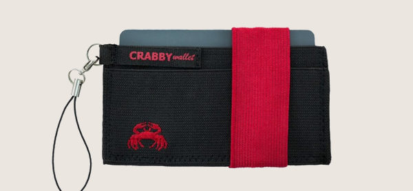 Crabby Wallet Thin Minimalist Front Pocket Wallet para hombres