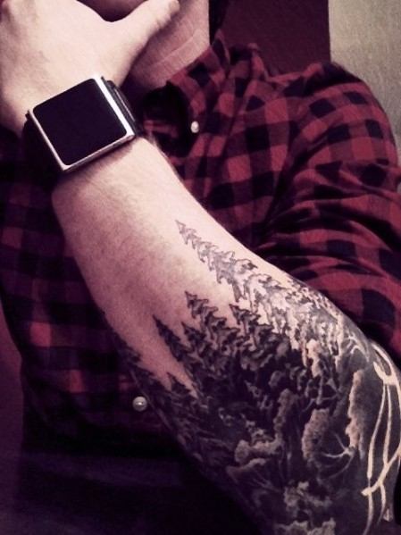 Manly Baum Tattoos