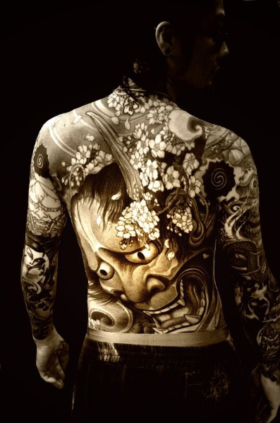 Back Tattoo Ideas For Men