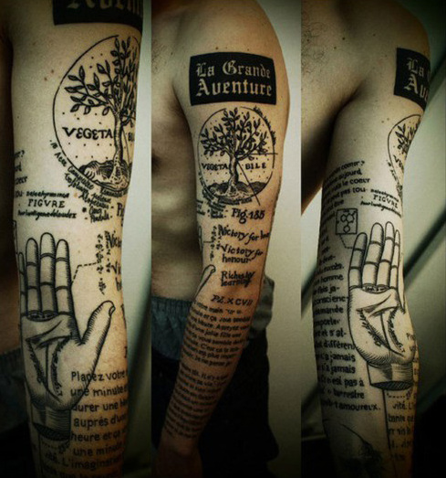 Men's Creative Tattoos