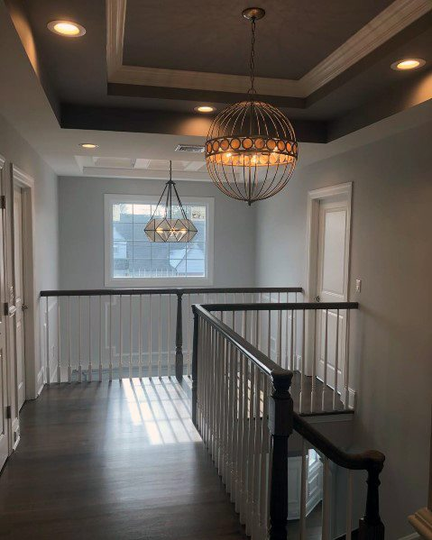 Remarkable Ideas For Trey Ceiling Staircase Hallway