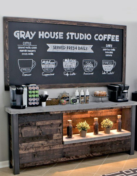 Amazing Coffee Bar Design Ideas