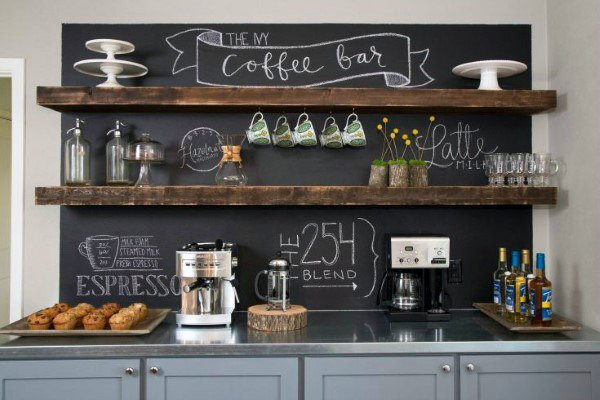 Home Designs Coffee Bar Ideas