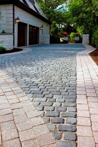 Ideas For Driveway Pavers