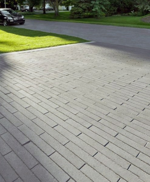 Concrete Stamped Driveway Ideas