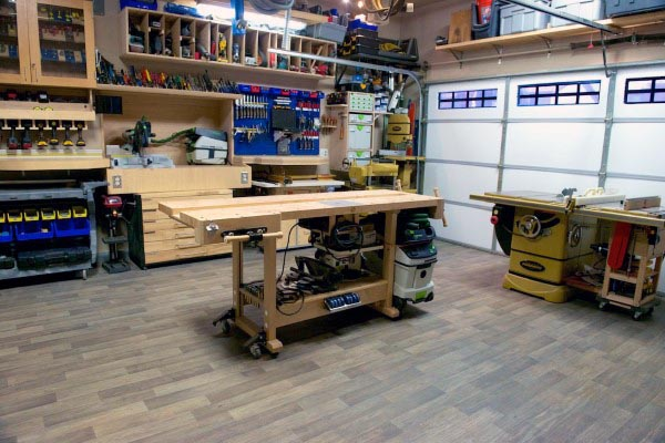 Garage Workshop Ideen