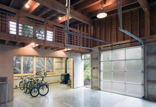 Loft Garage Workshop Ideen