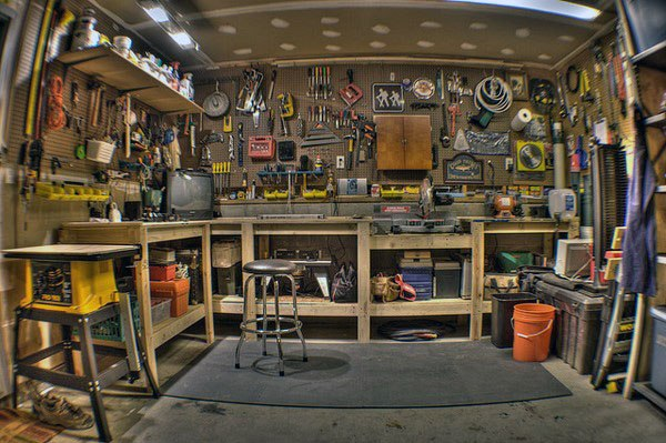 Tool Storage Workshop Ideen