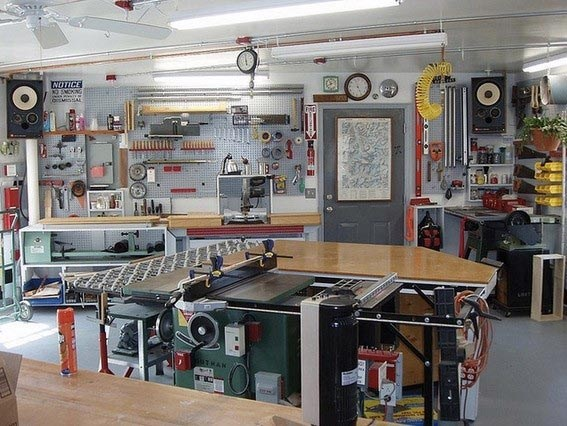 Coole Garage Workshop Ideen