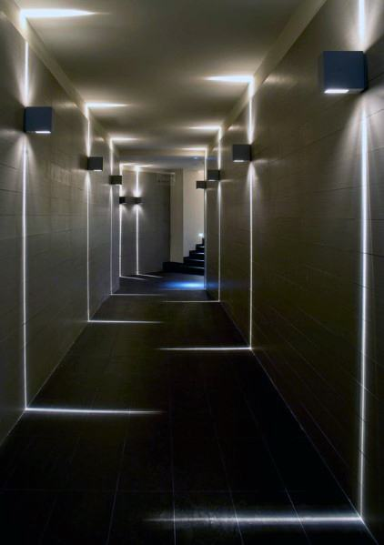 Modern Wall Sconces Hallway Valo Home Designs