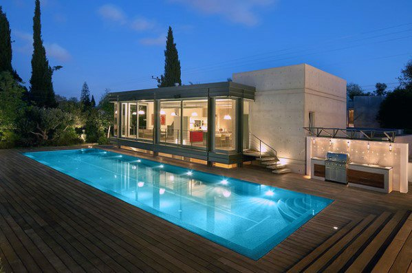 Remarkable Ideas For Pool Lighting