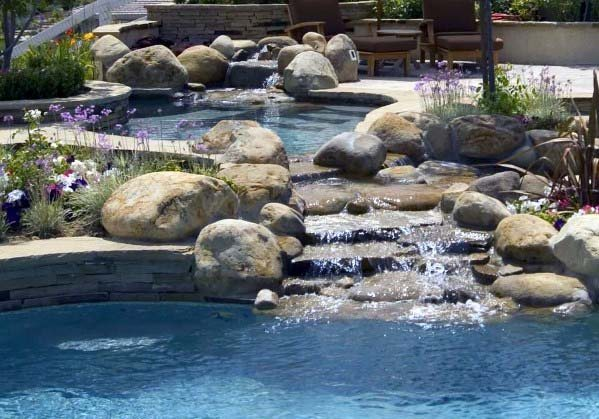 Pool Waterfall Idea Inspiration