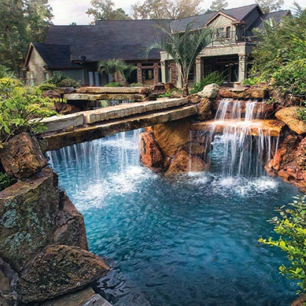 Pool Waterfall Ideas Inspiration