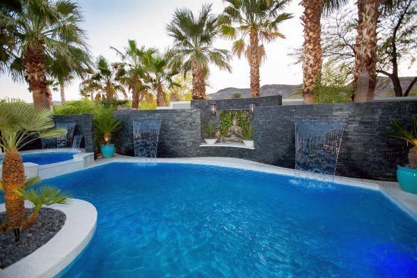 Pool Waterfall Spectacular Ideas