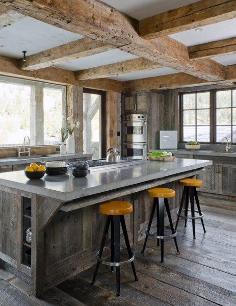 Luxury Rustic Kitchen Ideas