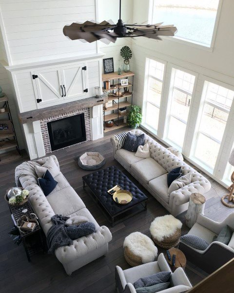 Rustic Style Living Room Ideas