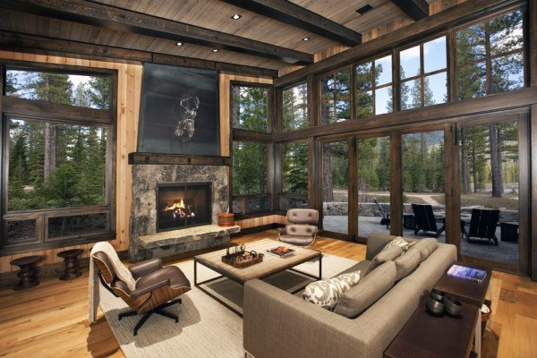 Rustic Themed Living Rooms