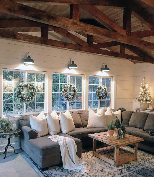 Ideas For Rustic Living Room Designs