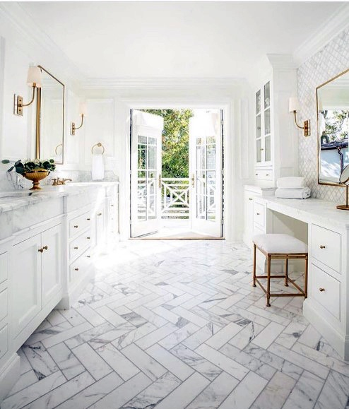 Good White Clean Ideas For Master Bathroom Vanity