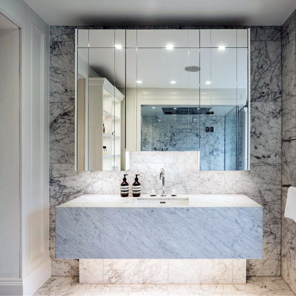 Solid Marble Ideas For Bathroom Vanity
