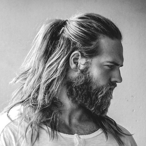 Hairstyles For Men With Long Curly Hair