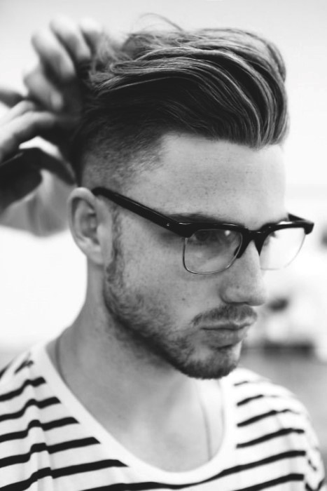 Cool Haircuts For Long Hair Men Slicked Back