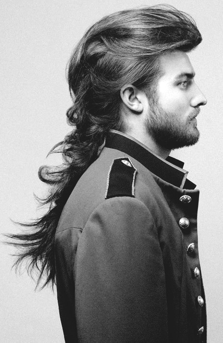 Long Length Hairstyles For Men