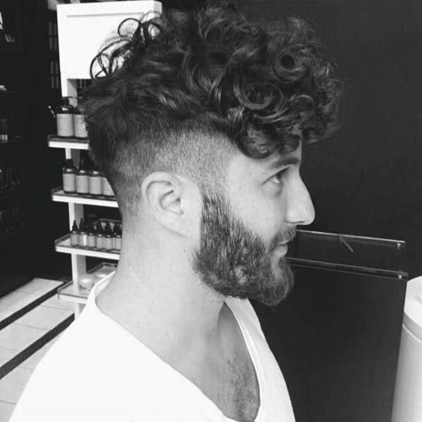 Mens Hairstyles For Long Curly Hair