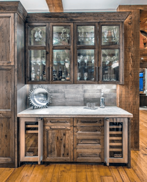 Rustic Ideas For Home Basement Bar