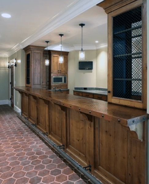 Solid Wood Home Rustic Bar Ideas