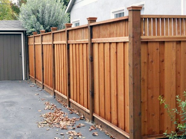 Luxury Wooden Fence