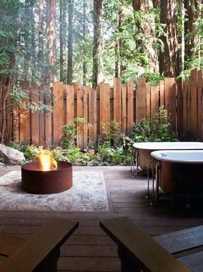 Superb Wooden Vertical Boards Fence Ideas